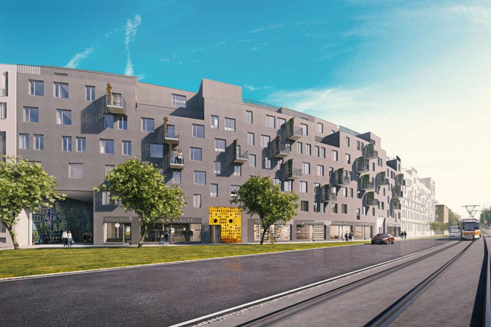 nové byty Olomouc Šantova